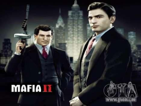 L'écran de démarrage de Mafia II pour GTA San Andreas troisième écran
