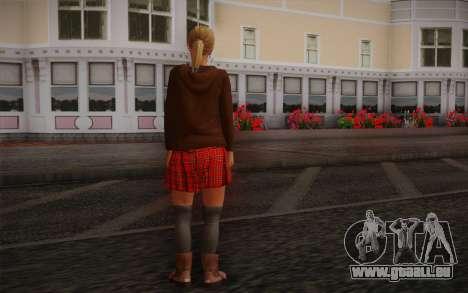 Tracey De Santa pour GTA San Andreas deuxième écran