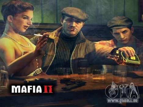 L'écran de démarrage de Mafia II pour GTA San Andreas cinquième écran