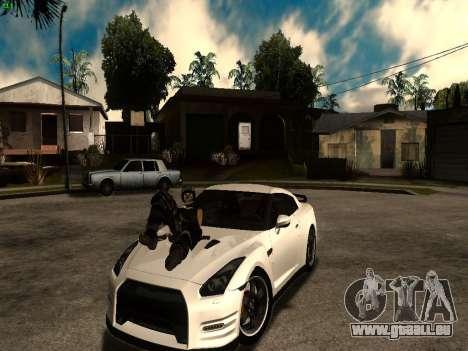 ENB Series by Makar_SmW86 [SAMP] pour GTA San Andreas