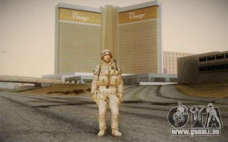 Les soldats de la Black Ops 2 pour GTA San Andreas