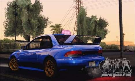 Subaru Impreza 22B STi 1998 pour GTA San Andreas vue de droite