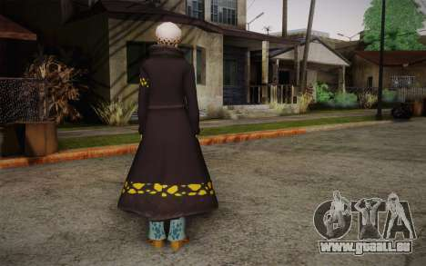 One Piece Trafalgar Law für GTA San Andreas zweiten Screenshot
