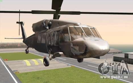 UH-60 Blackhawk für GTA San Andreas