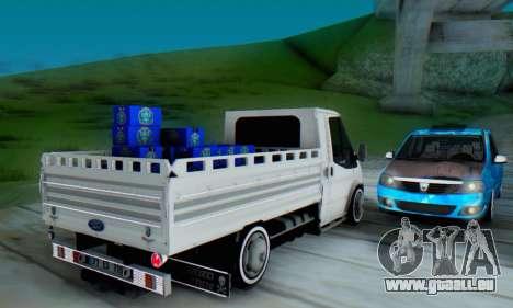Ford Transit Pikap für GTA San Andreas rechten Ansicht