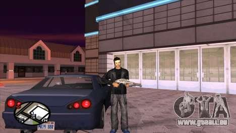 Retexturer pantalon de Binco pour GTA San Andreas quatrième écran