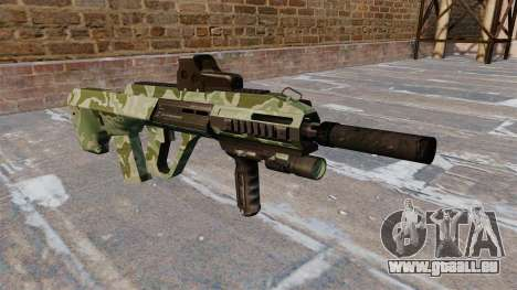 Maschine Steyr AUG A3 Green Camo für GTA 4