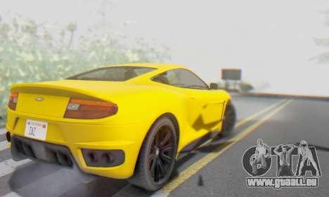 Dewbauchee Massacro 1.0 für GTA San Andreas Unteransicht