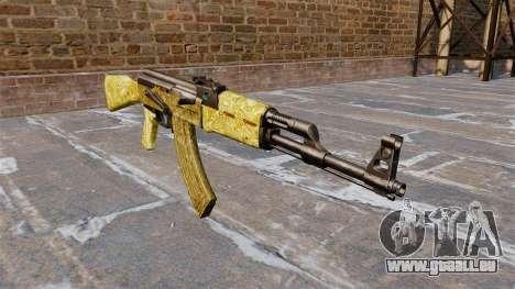 L'AK-47 en Or pour GTA 4
