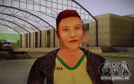 Woman Autoracer from FlatOut v3 pour GTA San Andreas troisième écran