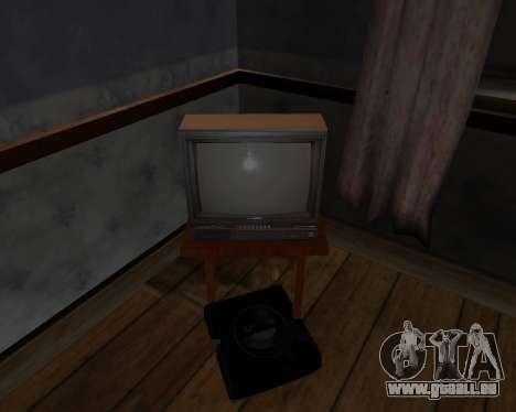 Colour television alpha TC-DU pour GTA San Andreas quatrième écran