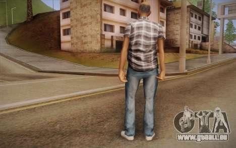 Type asiatique pour GTA San Andreas deuxième écran