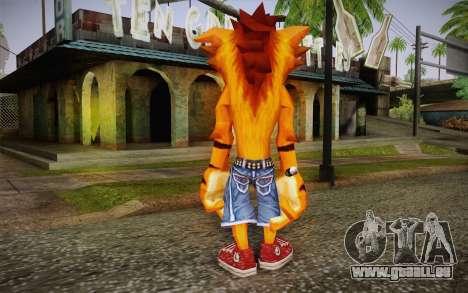 Crash Bandicoot (Crash Of The Titans) pour GTA San Andreas deuxième écran