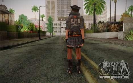 Helena Harper Police Version für GTA San Andreas zweiten Screenshot