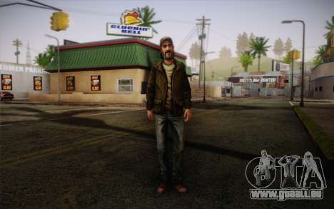 Kenny из The Walking Dead pour GTA San Andreas