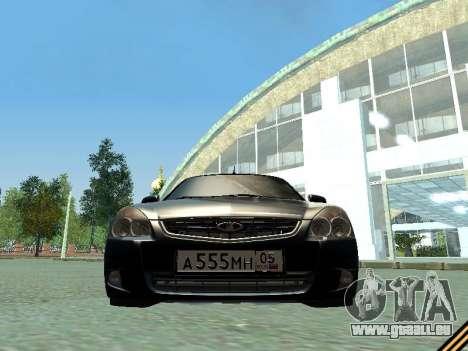 VAZ 2170 pour GTA San Andreas vue intérieure