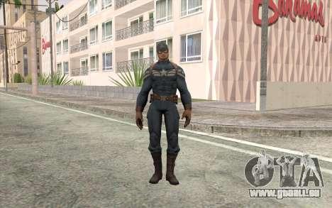 Captain America für GTA San Andreas