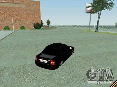 VAZ 2170 pour GTA San Andreas vue de droite