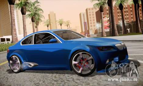 BMW M3 E92 SHDru Tuning für GTA San Andreas