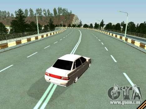 VAZ 2110-2170 für GTA San Andreas rechten Ansicht