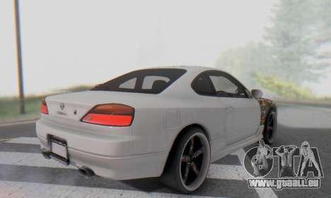 Nissan Silvia S15 Metal Style für GTA San Andreas Seitenansicht