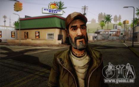Kenny из The Walking Dead für GTA San Andreas dritten Screenshot