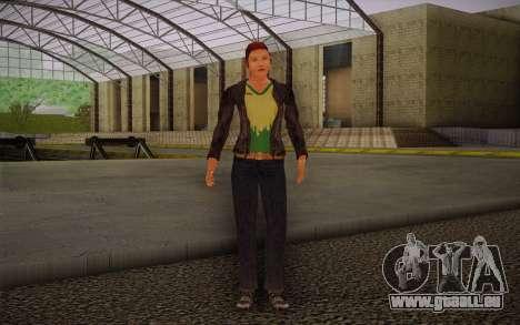 Woman Autoracer from FlatOut v3 pour GTA San Andreas