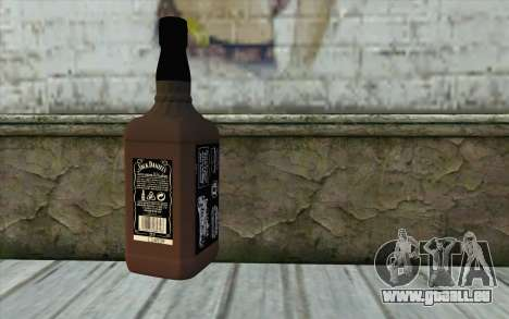 Jack Daniels Whiskey für GTA San Andreas zweiten Screenshot