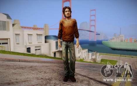 Luc из The Walking Dead pour GTA San Andreas