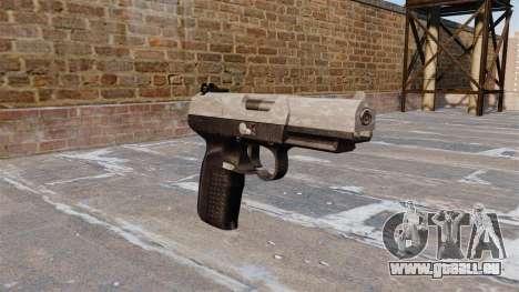 Pistolet FN Cinq à sept ACU Camo pour GTA 4