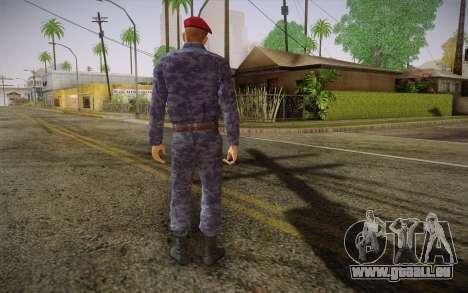 Berkut pour GTA San Andreas deuxième écran