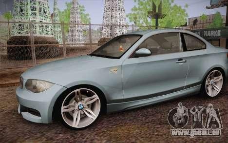 BMW 135i Limited Edition pour GTA San Andreas vue de côté