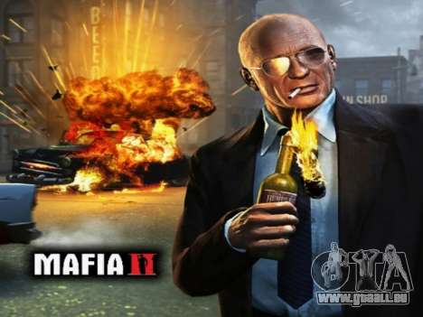 L'écran de démarrage de Mafia II pour GTA San Andreas deuxième écran