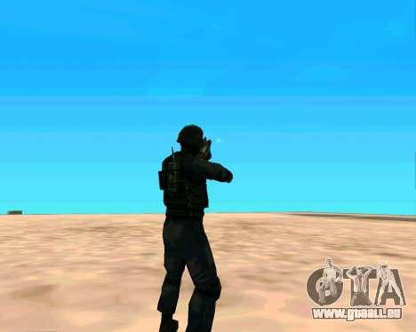 Jackhammer de Max Payne pour GTA San Andreas sixième écran