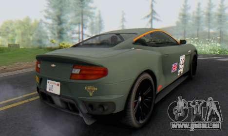 Dewbauchee Massacro 1.0 pour GTA San Andreas vue de côté