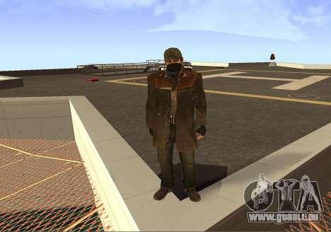 Aiden Pearce pour GTA San Andreas quatrième écran