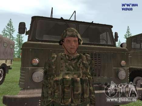 Die Kämpfer der Russischen Armee für GTA San Andreas