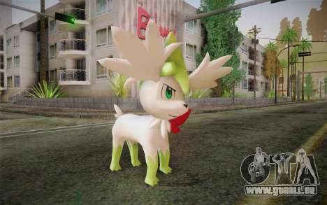 Shaymin Sky from Pokemon pour GTA San Andreas
