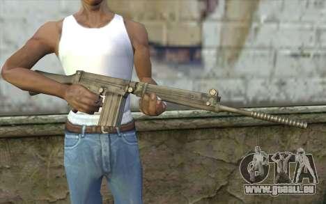 Fuzil FAL pour GTA San Andreas troisième écran