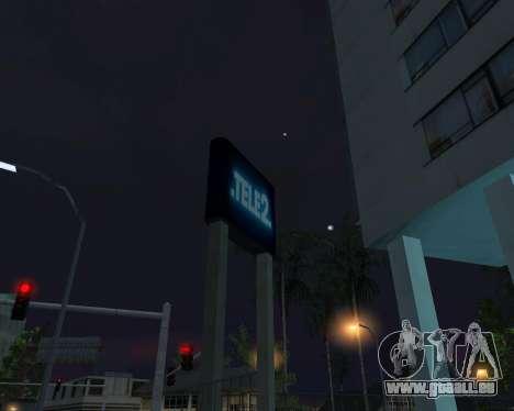 Office-TELE2 für GTA San Andreas fünften Screenshot