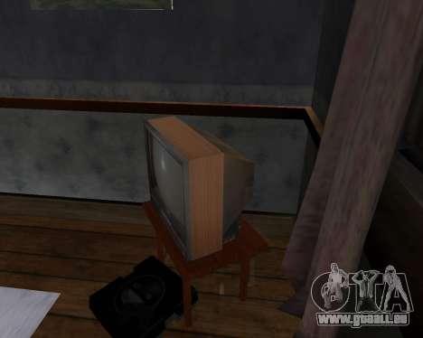 Colour television alpha TC-DU pour GTA San Andreas deuxième écran