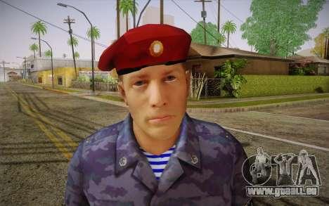 Berkut pour GTA San Andreas troisième écran