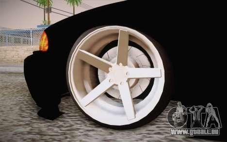 BMW 318 Ci 34 UNL 58 für GTA San Andreas zurück linke Ansicht