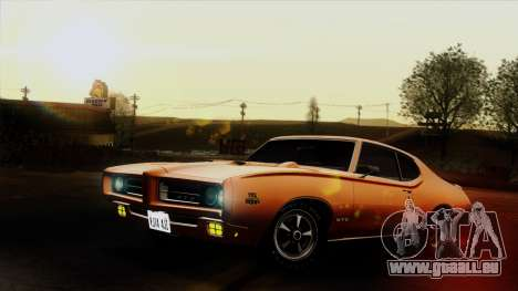 Pontiac GTO The Judge Hardtop Coupe 1969 für GTA San Andreas