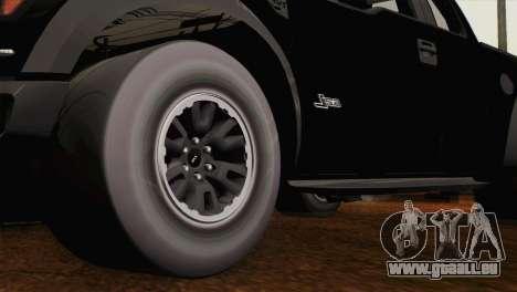 Ford F-150 SVT Raptor 2011 für GTA San Andreas rechten Ansicht