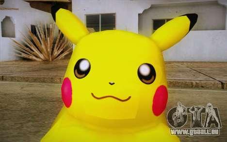 Pikachu pour GTA San Andreas troisième écran
