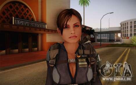 Jill Valentine from Resident Evil: Revelations pour GTA San Andreas troisième écran