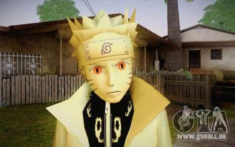 Naruto Kurama pour GTA San Andreas troisième écran