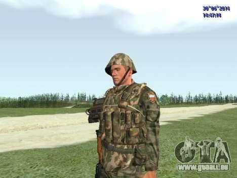 Die Kämpfer der Russischen Armee für GTA San Andreas dritten Screenshot
