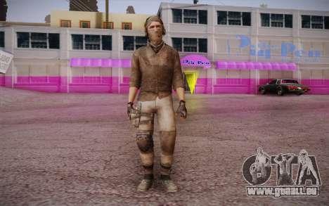 Mercenaire sans armure (COD MW3) pour GTA San Andreas